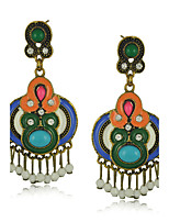 Drop Earrings Women's Resin / Alloy / Acrylic Earring Rhinestone