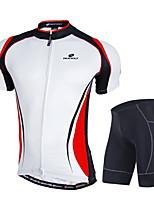 NUCKILY mountain bike riding short sleeve summer sunscreen breathable clothing