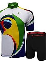 Getmoving Women's / Men's /Cycling Clothing / Compression Clothing Short Sleeve Bike Spring / Summer / Autumn