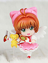 Cardcaptor Sakura Anime Action Figure 8CM Model Toy Doll Toy (4 Pcs)