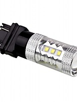Izh jensen auto 12v 3157 cree auto 80w ha condotto girare freno auto della lampada led di segnalazione backup lampadina con il colore