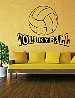 4056 Volleyball Vinyl Wall Decal Stickers for Kids Sport Boy Rooms Bedroom Art Wall Home Decor Wallpaper Free Shipping
