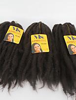 x-Tress coleção crochet tranças afro excêntricas 100% de fibras de kanekalon Toyokalon jumbo marley 18