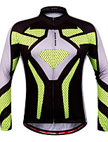 tops / Pulôver / Jersey(verde claro) - dePesca / Esportes Relaxantes / Ciclismo / Corrida / Trilha / Sertão / Motorbike-Unissexo-