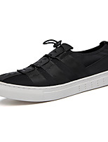 Men's Shoes Outdoor / Office & Career / Casual Fabric Fashion Sneakers Black / Blue