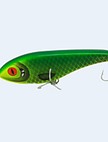High Quality 6Inch 76G Hard Plastic Slow Sinking Jerkbait Fishing Lure Wovbble Pike Muskie Swimbait