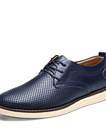 Men's Oxfords Spring Summer Comfort Bullock shoes Light Soles PU Office & Career Party & Evening Casual Flat Heel Gore