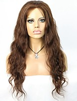 Best Selling Maslaysian Virgin Hair Long Body wave Full Lace Wig for African American