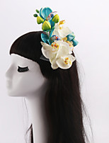 Women's / Flower Girl's Tulle / Fabric Headpiece-Wedding / Special Occasion / Casual / Outdoor Flowers 1 Piece