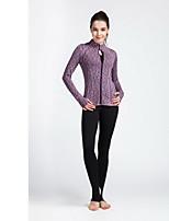 Yoga Pants Bottoms Breathable / Quick Dry Elasticity Sports Wear Green / Black / Purple Women's SMOEDOD Yoga