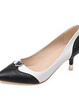 Women's Shoes Stiletto Heel Heels/Pointed Toe Heels Office & Career/Dress Black