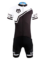 PaladinSport Men 's Cycyling Jersey + Shorts Bike Suits for DT622  Wolf