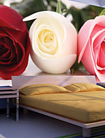 JAMMORY Floral Wallpaper Contemporary Wall Covering,Other A Large Mural Wallpaper Modern Minimalist Romantic Roses