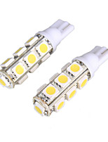 2pcs 12V 5W T10 5050 10SMD LED Reading Lamp, LED Door Lamp with Super Bright White