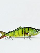 Mmlong 8cm 8.7g 3 Segments Lifelike Baits Slow Sinking Crankbait Swimbait Artificial Fishing Lure MML03B-1