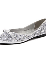 Women's Shoes  Flat Heel Pointed Toe Flats Casual Black / Silver