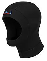3mm Unisex Neoprene Material Warm Function Diving Hoods for Diving/Swimming M Size