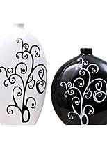 Modern Ceramic Craft Ornaments for Home Decoration 2pcs/set(Random Color)