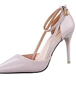 Women's Shoes Sexy Cut Out Pump Hasp Stiletto Heel Heels / Pointed Toe Heels Office & Career / Party & Evening