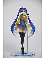 Vocaloid Hatsune Miku PVC One Size Anime Action Figures Model Toys  Q Version 1pc 23cm