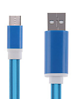 Cwxuan® LED Flashing Light USB 3.1 Type C  USB Data Sync Charger Cable for Tablet / Mobile Phone