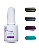 iluve GelNagellack Set - Satz von 4 - lange Lebensdauer 3 Wochen tränken weg vom UV-LED-Gel-Lack - für Nagelkunst # 4050
