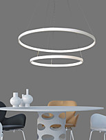48W Pendant Light Modern Design/High Quality LED Two Ring/Fit for Showroom,Living Room, Dining Room,Study Room/Office