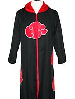 Naruto Black Terylene Cosplay Cloak