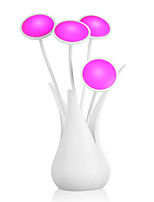 Creative LED Auto Light Sensor Vase Shape USB Night Light Table Flower Lamp(Assorted Color)