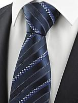 New Purple Navy Dotted Striped JACQUARD Men's Tie Necktie Formal Suit Gift KT0015
