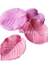 Leaves Style Fondant Cake Chocolate Silicone Molds,Decoration Tools Bakeware