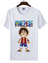 Cotton Lycra T-shirt Summer Men's T-shirt One Piece T-shirt 1Pc