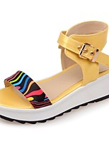 Women's Shoes Platform Platform Sandals Office & Career / Dress / Casual Yellow / Green / Pink
