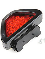 Terzo Fanalino Luce Stop 12Led Rosso Per Auto Universale  Third Headlight Light Stop 12Led Red Universal Car