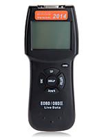 OBD2 OBDII EOBD escáner universal de la pantalla retroiluminada herramienta de diagnóstico de escaneo automático coche