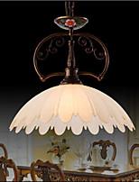 Retro Hand Painted Art Pendant Lamp Lighting Lamp Balcony Lighting
