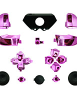 Replacement Controller Case for Xbox One Controller Plating (Golden/Silver/Red/Pink)
