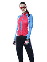 MYSENLAN Women's Cycling Tops Long Sleeve Bike Spring / Summer / Autumn Breathable / Wicking / Lightweight Materials
