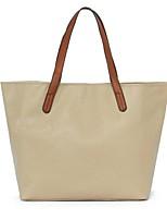 Women PU Barrel Shoulder Bag-Beige / Orange / Brown / Black