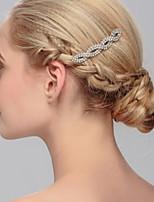 Bergkristal Vrouwen Helm Bruiloft / Speciale gelegenheden / Casual / Kantoor & Cariere / Outdoor HaarkammenBruiloft / Speciale