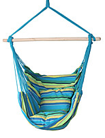 SWIFT Outdoor® Portable Cottton Stripe Outdoor Garden Indoor Hammock Hanging Chair Outdoor