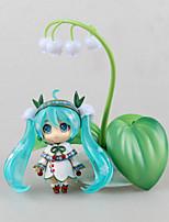 Vocaloid Snow Miku PVC One Size Figures Anime Action Jouets modèle Doll Toy