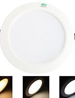 15W Plafonniers 48 SMD 5730 1200 lm Blanc Chaud / Blanc Froid / Blanc Naturel Décorative AC 85-265 V 1 pièce