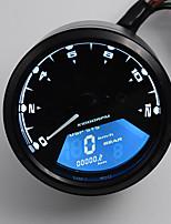 12-24v nouveau lcd compteur de vitesse numérique moteur odomètre moto vélo