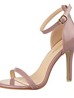 Women's Shoes Stiletto Heel Heels / Pointed Toe / Open Toe Sandals Dress Black / Purple / Red / Silver / Gray