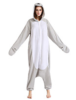 New Cosplay®Unisex Seal Polar Fleece Kigurumi Pajama(without Shoes)