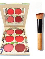 The B@lm  Lip and Cheek Cream Palette+ 1 PCS High Quality Powder Brush