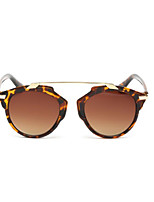 Sunglasses Women's Fashion 100% UV400 Round Tortoiseshell Sunglasses Full-Rim
