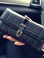 VENETA Women PU Bi-fold Clutch / Wallet / Card & ID Holder-Purple / Blue / Red / Black