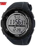 Sports Watch Men's / Ladies' / Couple's / Unisex LCD / Calendar / Chronograph / Water Resistant / Dual Time Zones / Sport Watch Digital